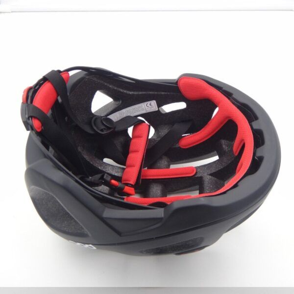 Casco de ciclismo para hombres mujeres EPS negro interior