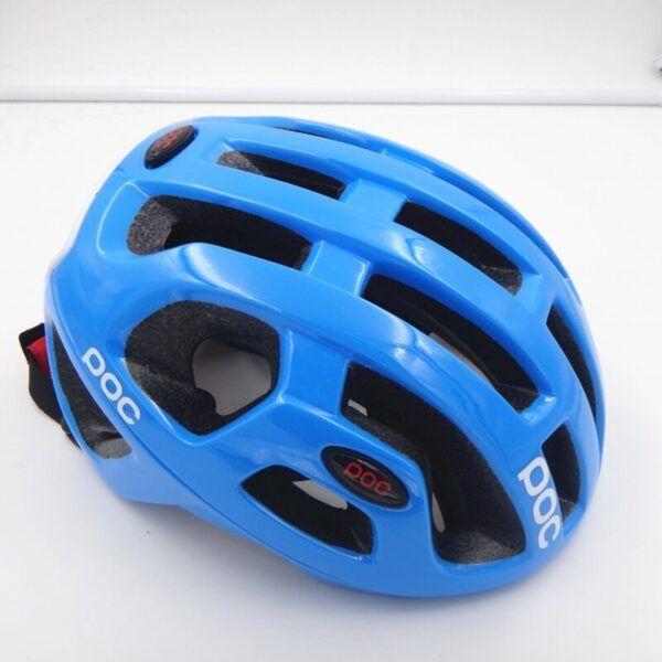 Casco de ciclismo para hombres mujeres EPS azul