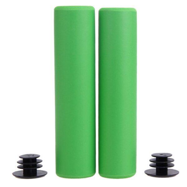 Puño de manillar de bicicleta, esponja de silicona suave para empuñadura, ultraligera, de alta densidad, Bmx, antideslizante