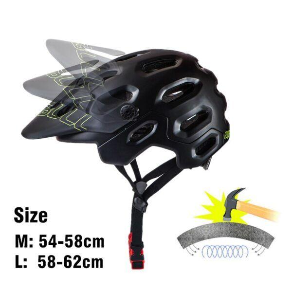 Casco de bicicleta de cobertura completa para adulto, máscara completa para ciclismo de montaña