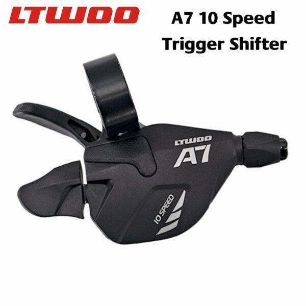 Groupset transmisión de 10 velocidades ltwoo A7 + deflector de cola + casete / cadenas zrace 42/46/50 t + grupo cadena SUMC X10,