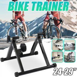 Rodillo de entrenamiento portátil para bicicleta de carretera de 24-29 pulgadas