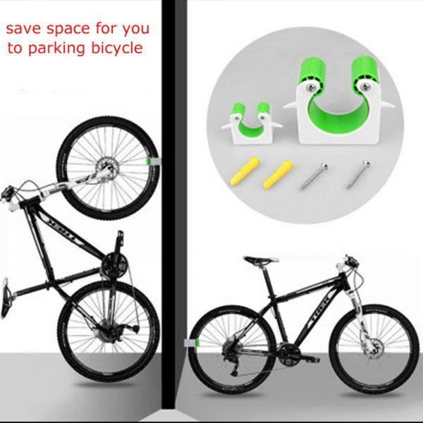 Soporte de pared Vertical para bicicleta de montaña, hebilla de estacionamiento