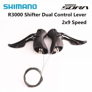Palanca de Control Dual SHIMANO SORA ST R3000, velocidad 2x9 3x9, desviador ST R3000, 18 velocidades