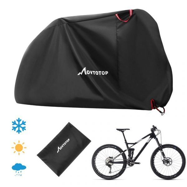Funda de bicicleta Movetotop impermeable protector de lluvia UV Protector de polvo