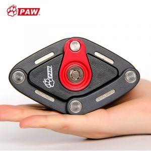 Candado de bicicleta plegable PAW 2 llaves candado de bicicleta antirrobo