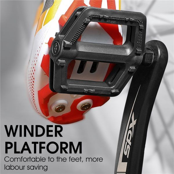 Pedales de bicicleta WEST BIKING Ultraligeros MTB Pedal Ciclismo de montaña Antideslizante 9''16 Pedales universales estándar