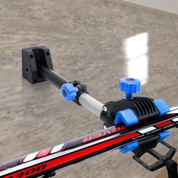 Soporte de reparación plegable de pared para bicicleta