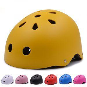Casco de bicicleta MTB redondo para niños / adultos, hombres y mujeres