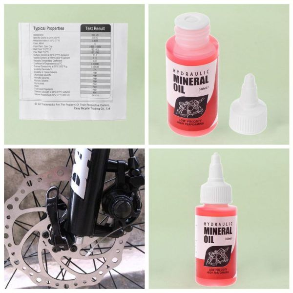 Aceite mineral para frenos de bicicleta Shimano 60ml