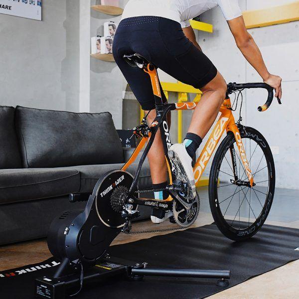 Entrenador inteligente Thinkrider X7 PRO para bicicleta, medidor de potencia incorporado, para interiores