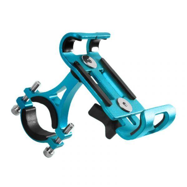 Soporte para teléfono de bicicleta de bicicleta de aleación de aluminio