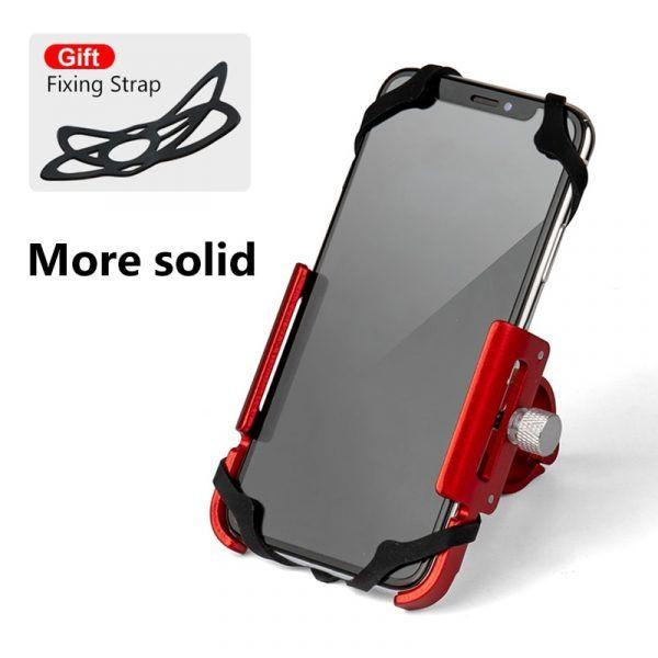 Soporte de aluminio para teléfono de bicicleta GUB
