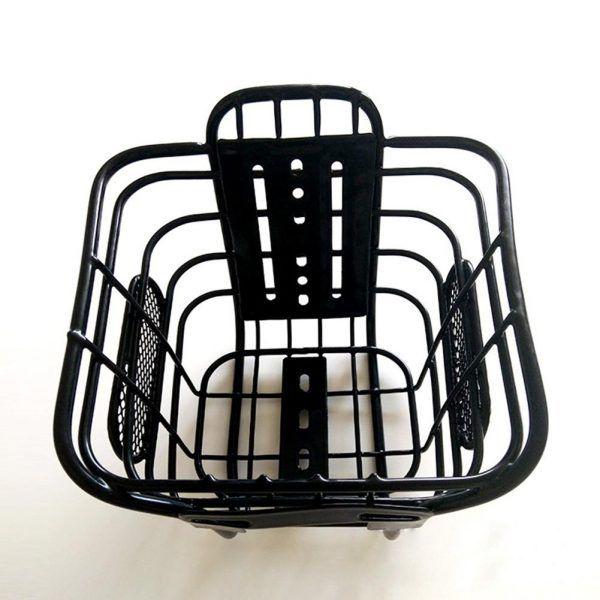 Cesta para bicicleta de niños, de material de acero resistente a golpes