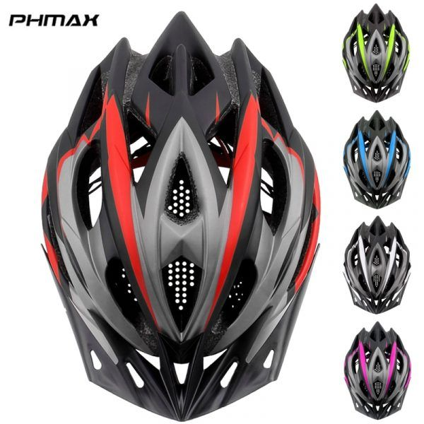 Casco de bicicleta MTB PHMAX Ultraligero EPS y Cubierta de PC