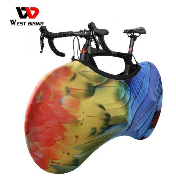 Cubierta protectora de bicicleta WEST BIKING antipolvo a prueba de arañazos