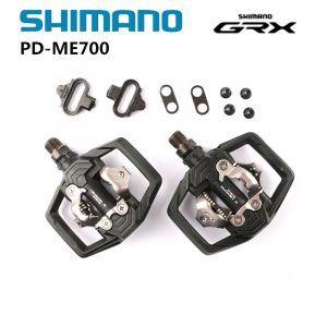 Pedales Shimano PD-ME700 SPD ajustable para bicicleta MTB Trail