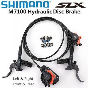 Frenos de disco hidráulico Shimano SLX m7120, 4 pistones, 2 pistones, para bicicleta de montaña, freno de 850/900, 1500 y 1600mm, izquierda y derecha