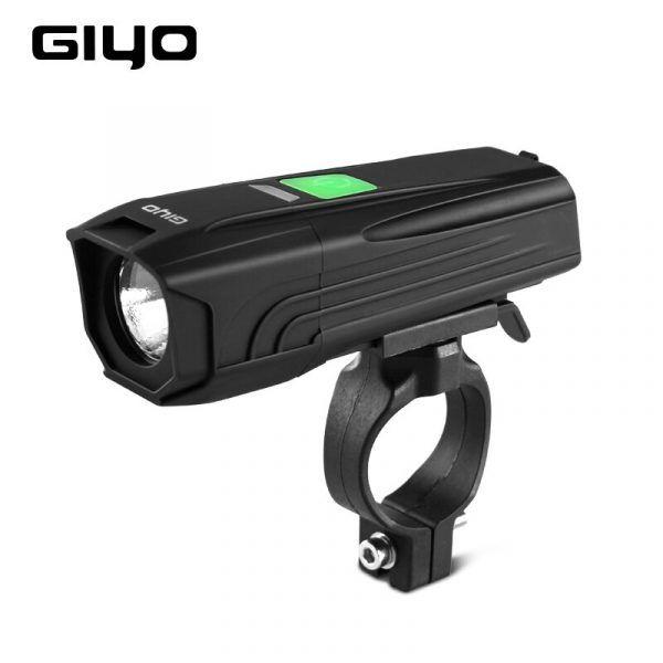 Linterna LED T6 para bicicleta, faro delantero para manillar, recargable vía USB, de 450Lm