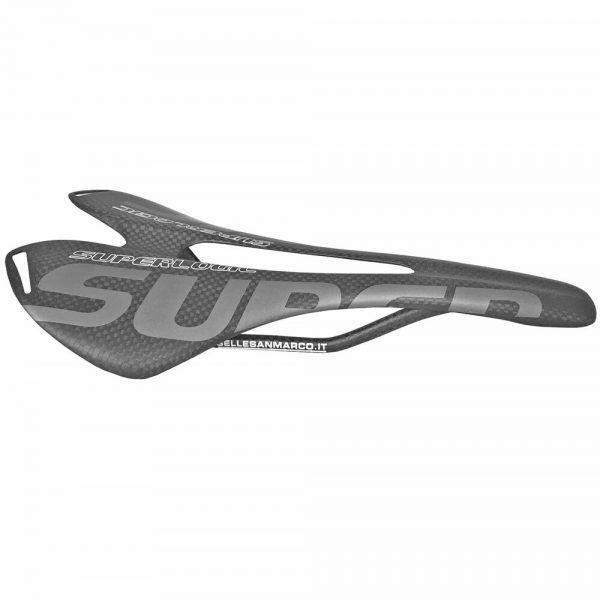 Sillín de bicicleta de fibra de carbono superlogic 3K a 275 * 143mm