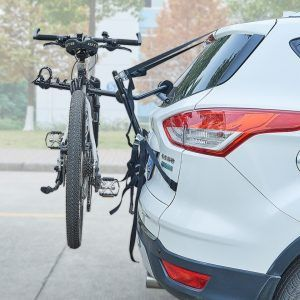 Soporte de bicicleta para 2 bicicletas en maletero de coche