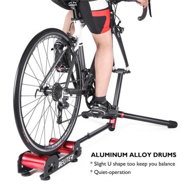 Rodillo de entrenamiento con resistencia DEUTER GT-04 para bicicleta, utensilio para rodaje de bici en interiores y exteriores