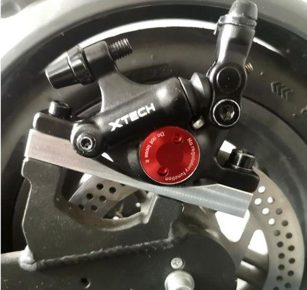 Pinzas de freno de disco hidráulico ZOOM XTECH HB100 MTB para rotores G3 delanteros y traseros 120/140/160/180MM MT200 M319