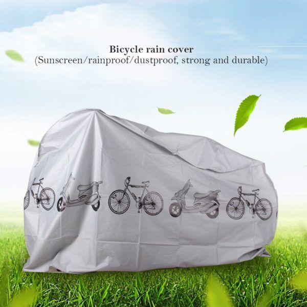 Funda de bicicleta impermeable contra lluvia rayos UV