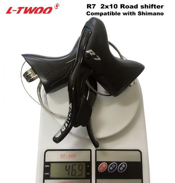 Palanca de cambios de bicicleta de carretera LTWOO R7 2x10 velocidades