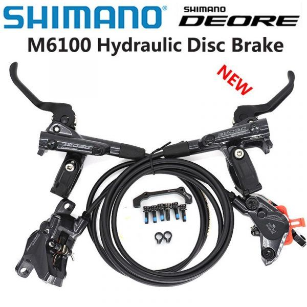 Freno de disco SHIMANO DEORE BL-M6100 2 pistón M6120 4 Freno de pistón