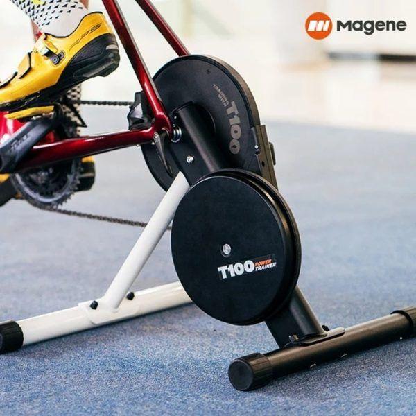 Entrenador de potencia inteligente para bicicleta Magene T100