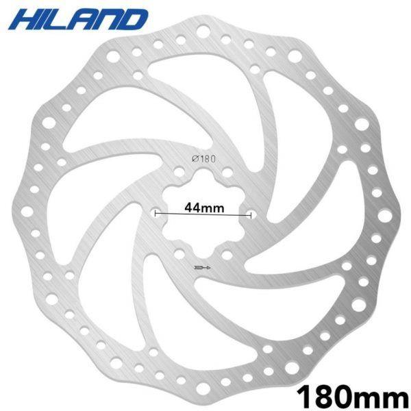 Rotor de disco de freno Hiland para bicicleta de 4 pulgadas, 203mm/180mm/160mm/140mm