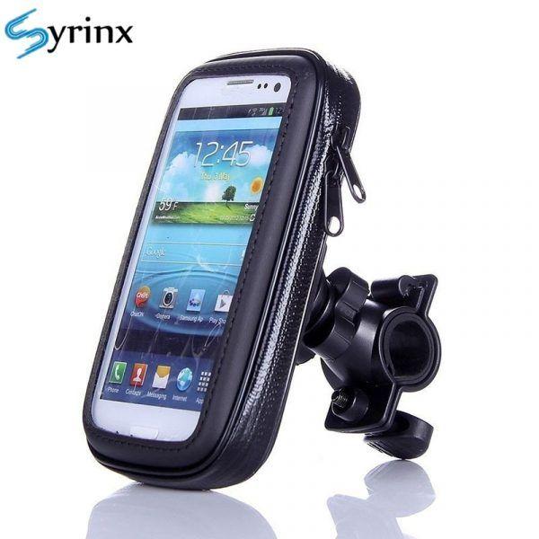 Soporte de teléfono de bicicleta SYRINX resistente al agua