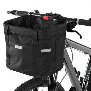 Cesta impermeable para manillar de bicicleta, mochila o bolsa portamascotas