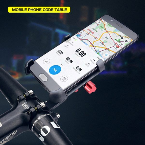 Soporte para teléfono móvil para bicicleta aleación de aluminio Promend