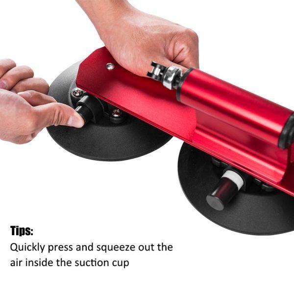 Portabicicletas de succión superior RockBros para coche, soporte de instalación rápida para 1/2/3 bicicletas