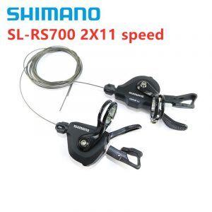 Palanca de cambios de bicicleta Shimano SL-RS700 2x11 velocidades para Flatbar