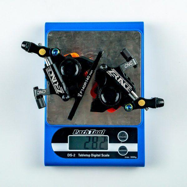 Freno de disco hidráulico ZRACE-BR-002 accionado por Cable para bicicleta de carretera